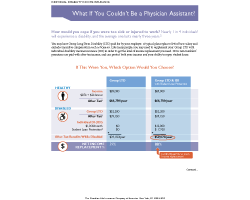 Guardian Provider Choice - What if you could not be a physician assistant