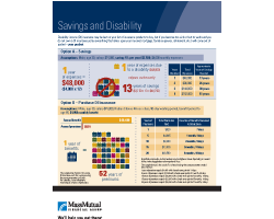Mass Mutual - Savings and Disability